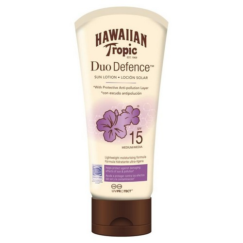 HAWAIIAN TROPIC  Duo Defence  Lotion (SPF 15)